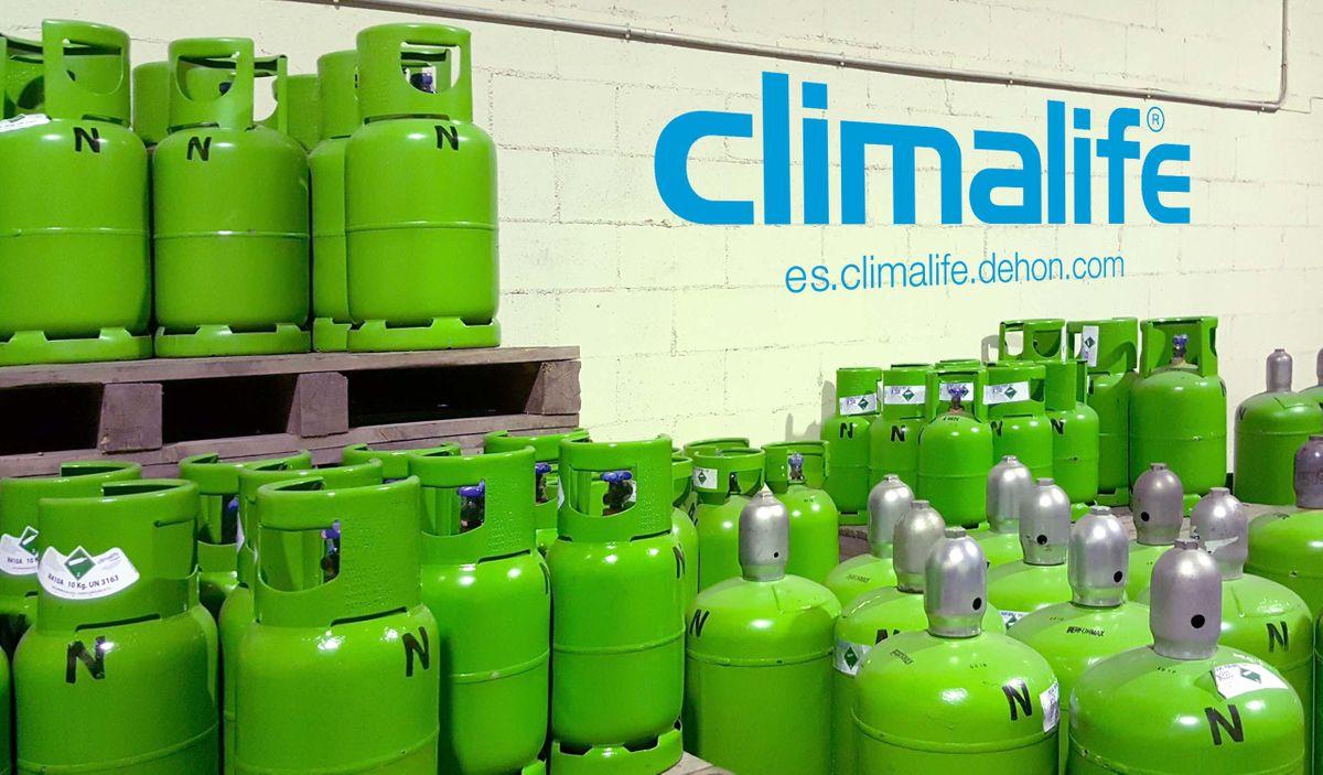 Climalife Friogas gases y productos refrigerantes España